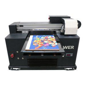 A2のA3サイズの装飾の印刷のためのデスクトップの小さい導かれた紫外線平面プリンター