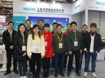 2018年3月、上海で開催された展覧会